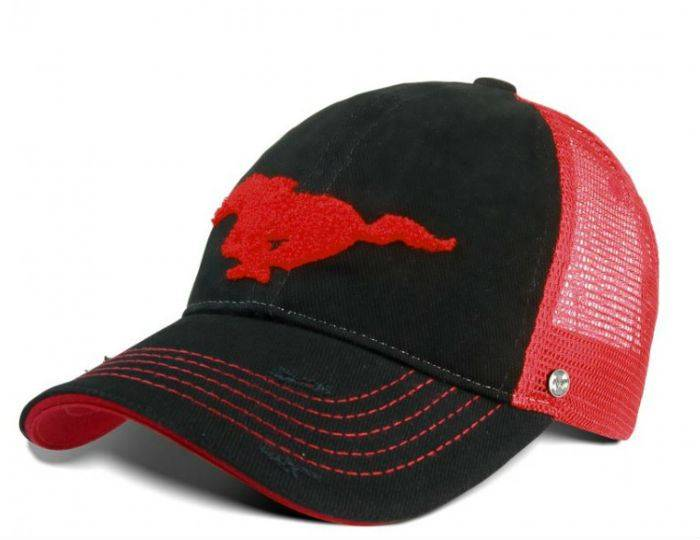 Ford-Mustang-Cap--Trucker-Style- 1