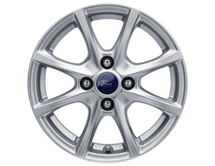 Genuine-Ford-Fiesta-2017>-15--Alloy-Wheel---Sparkle-Silver---2089630 1