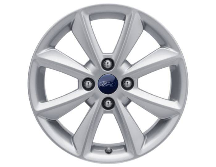 Genuine-Ford-Fiesta-2017>-16--Alloy-Wheel---Sparkle-Silver---2125245 1