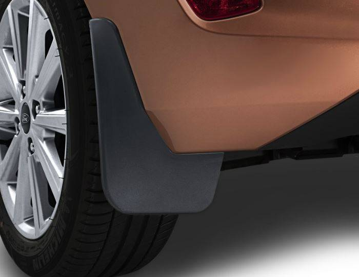 Genuine-Ford-Fiesta-2017>-Rear-Mud-Flaps---Mudflaps-(Less-Dress-Up-Kit)-2161535 1