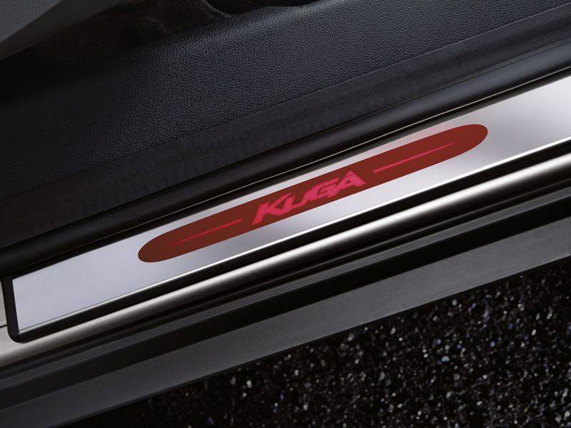 Genuine-Ford-Kuga-Illuminated-Sill-Protectors---In-Stainless-Steel-(1600352) 1