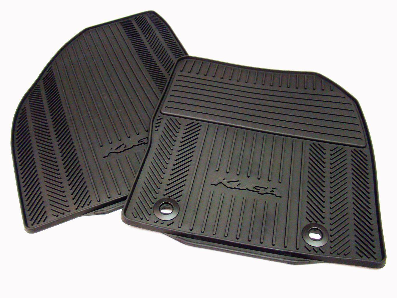 Genuine Ford Kuga Front Rubber Mats 2008-2012 1785004 Or 1502027
