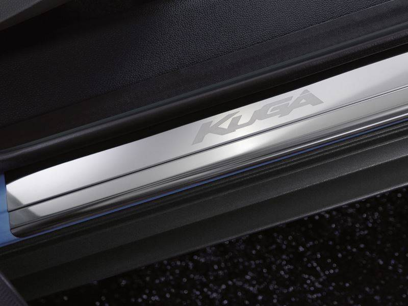 Genuine-Ford-Kuga-Sill-Protectors---Front-Pair-in-Stainless-Steel-(1700868) 1