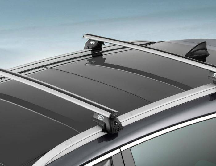 Genuine-Kia-Sportage-2016>-Roof-Rail-Cross-Bars-Aluminium-(Without-Holes) 1