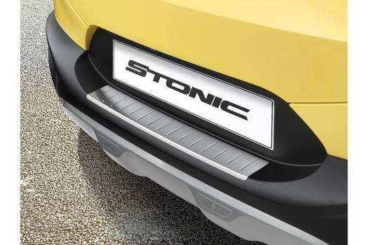 Genuine-Kia-Stonic-2017>-Brushed-Rear-Bumper-Protector---Trim-H8274ADE60ST 1