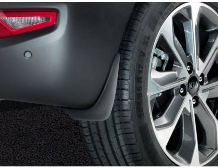 Genuine-Kia-Stonic-2017>-Rear-Mudflap---Mud-Flap-Kit,-Set-of-2-H8F46AK300 1