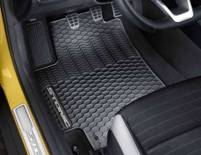 Genuine-Kia-Stonic-2017>-Rubber---All-Weather-Mats,-RHD-Only-H8131ADE60GR 1