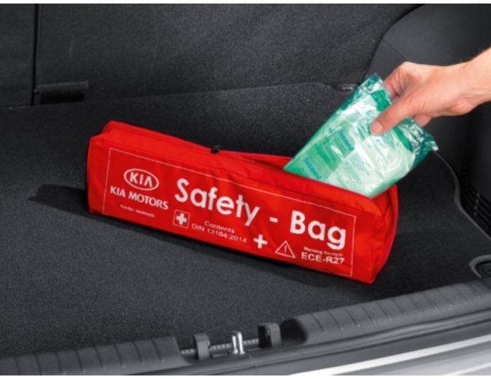 Genuine-Kia-Stonic-2017>-Safety-Kit---Bag-66940ADE00 1