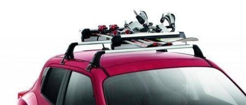 Genuine-Nissan-Note-2014->-Ski-Snowboard-Carrier,-Slidable-6-Pairs--KE73899996 1