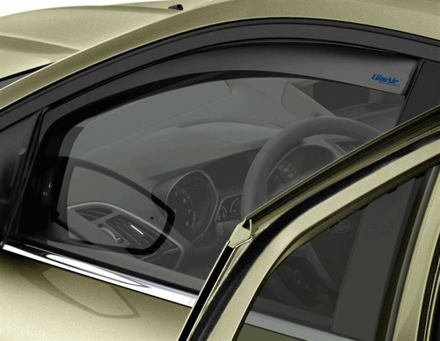 KIT---AIR-DEFLECTOR---SIDE-WINDOW,-BLACK,-CLIMAIR,-FRONT 1