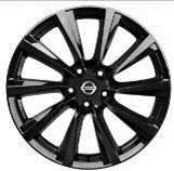 Nissan-Qashqai-(2014->)-19--Black-Alloy-Wheel-With-Centre-Caps-Wind-Design 1