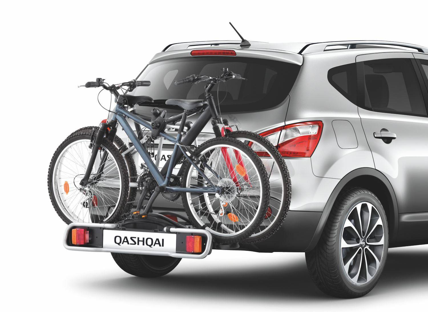 Nissan-Qashqai-(2014--2017)-Bike-Carrier---Towbar-Mounted-7-Pins--2-Bikes-KE73870207 1