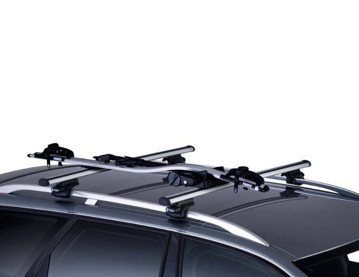 Thule-591-Cycle-Carrier---Bike-Carrier-Roof-Mounted-ProRide---Upright-2015-20kg-INCLUDE-WHEEL-LOCK 5