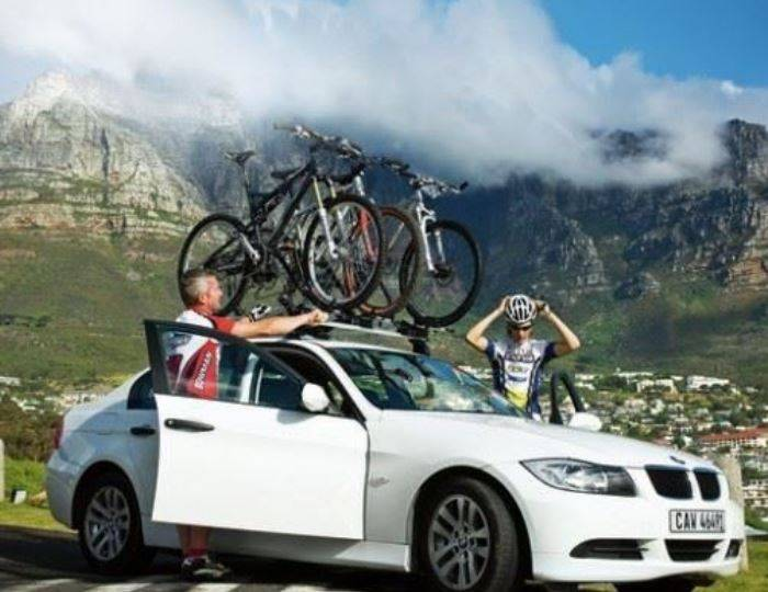 Set-of-4-Thule-ProRide-591-Cycle-Carrier---Bike-Carrier-Roof-Mounted-20kg 6