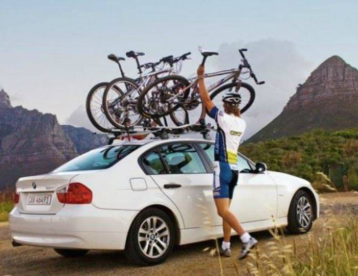 Set-of-3-Thule-ProRide-591-Cycle-Carrier---Bike-Carrier-Roof-Mounted-20kg 6