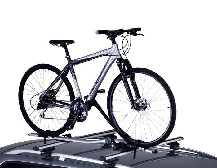 shop thule proride 591 roof mounted cycle carrier at. Black Bedroom Furniture Sets. Home Design Ideas
