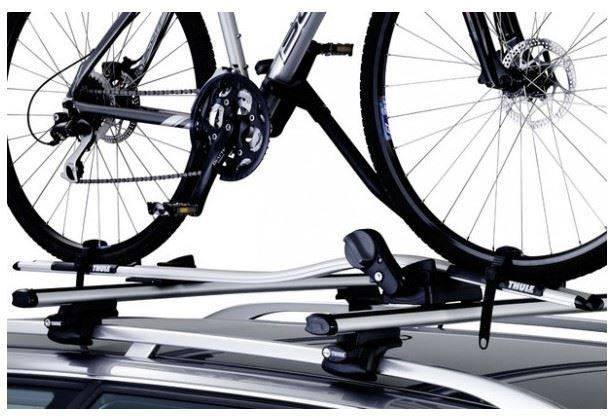 X3-Thule-591-Cycle-Carrier---Roof-Mounted-ProRide---Upright-INCLUDE-WHEEL-LOCK 3