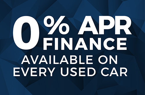 0% Finance Across All Used Cars!