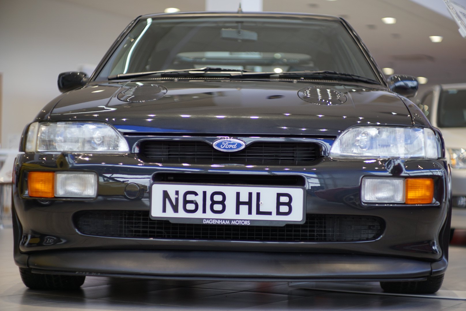 Front of the Ford Escort RS Cosworth