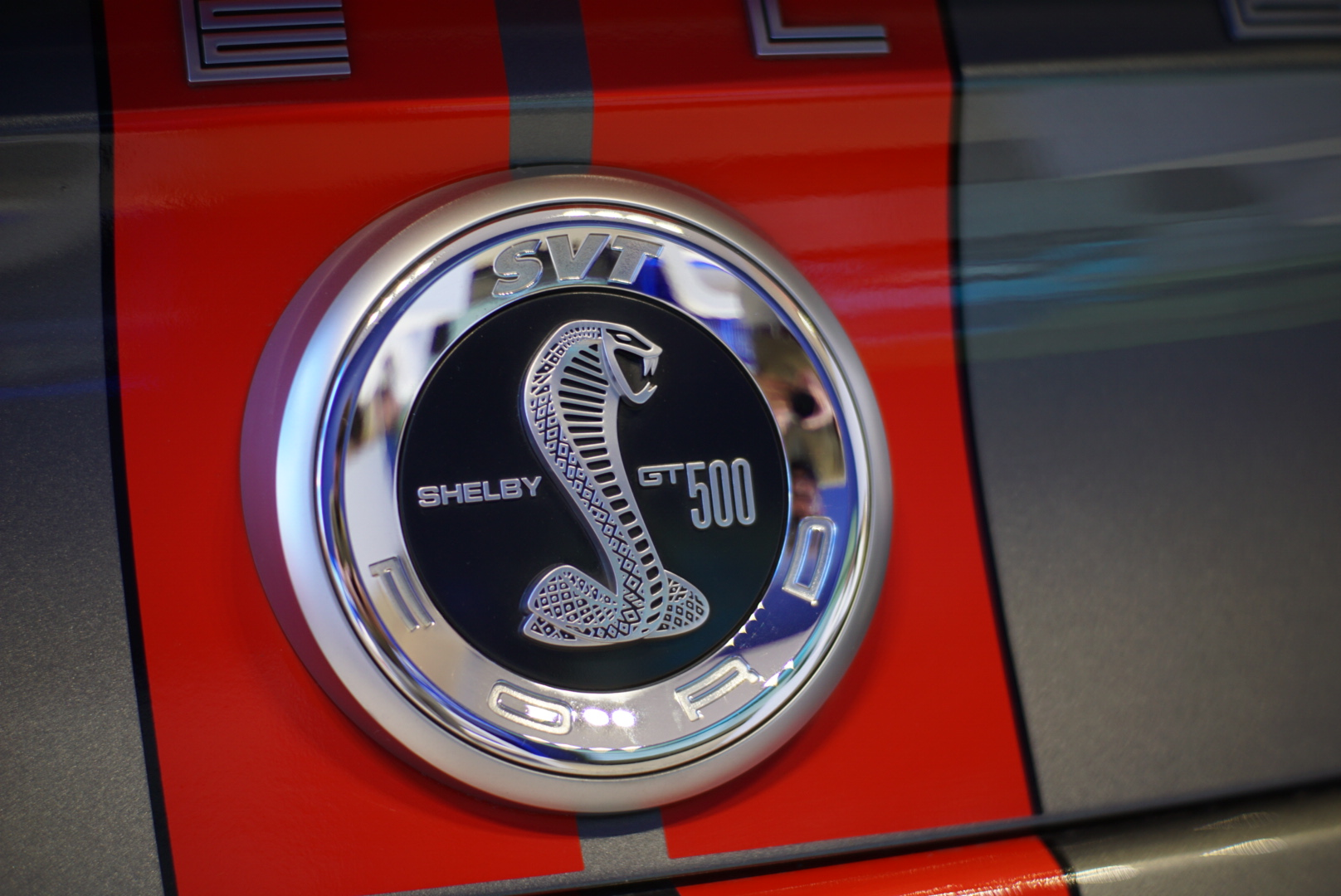 Mustang Shelby rear badge