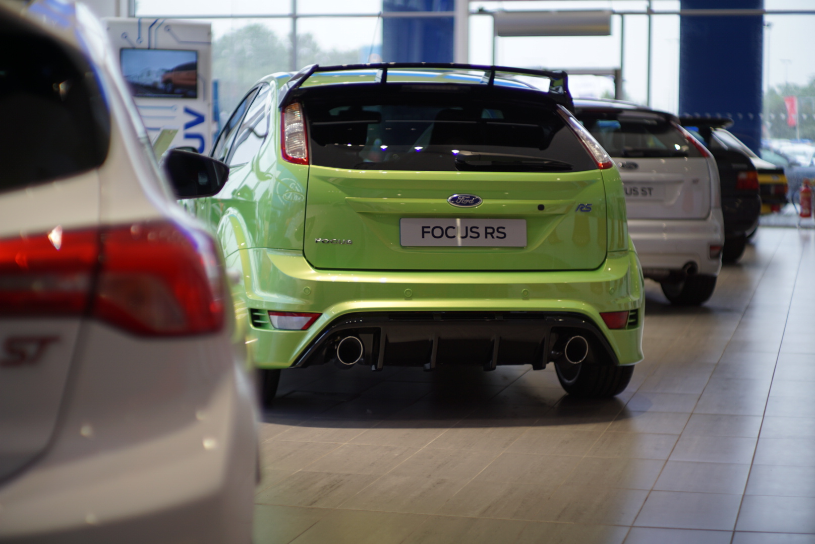Rear of the FOcus RS