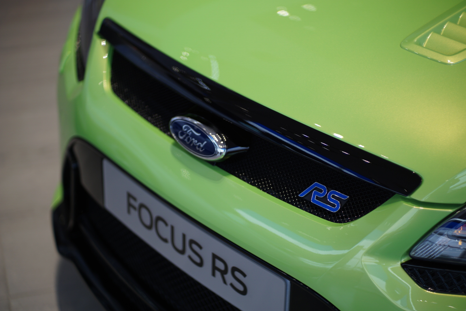 Front of the FOcus RS Badge