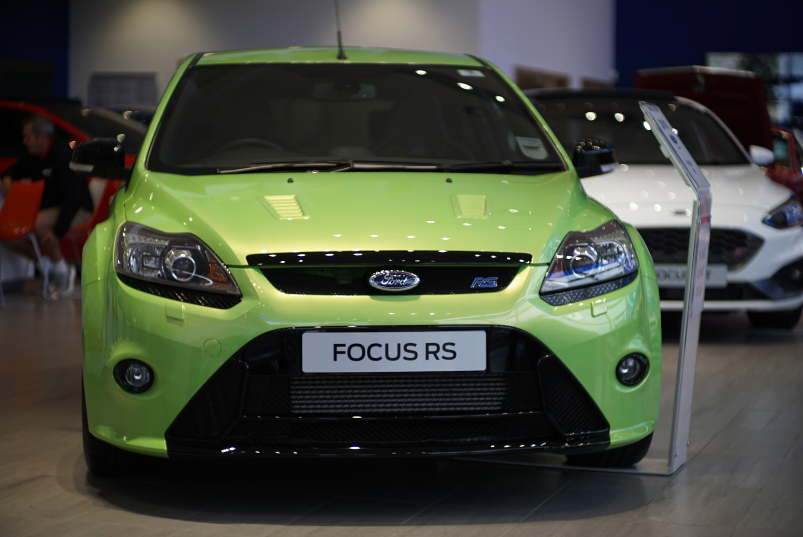Front of the Ford Focus RS
