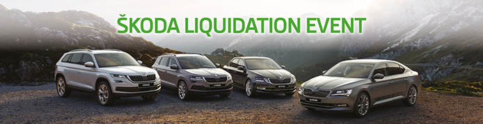 Skoda Nearly New and Used Cars Liquidation